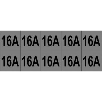 16A 10 db/ív