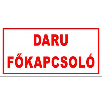Daru főkapcsoló