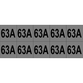 63A 10 db/ív