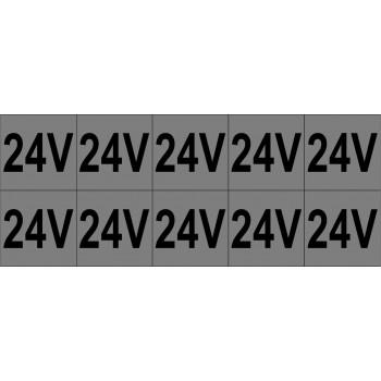 24V 10 db/ív