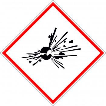CLP GHS robbanásveszélyes anyagok