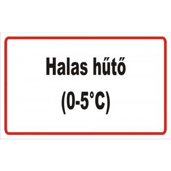 ANTSZ matrica - Halas hűtő -5C