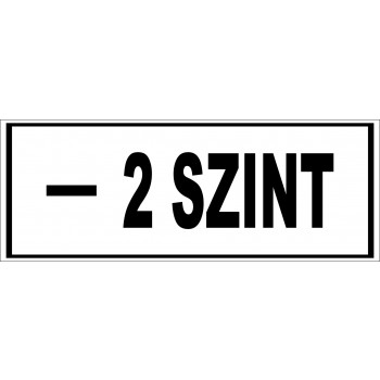 -2 szint matrica
