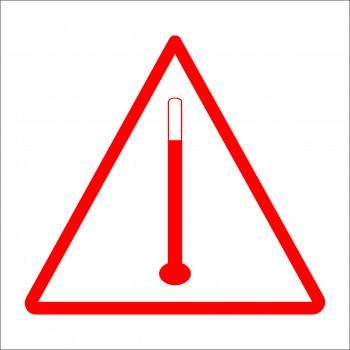 ADR matrica Magas hőmérséklet