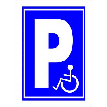 Mozgáskorlátozott parkoló