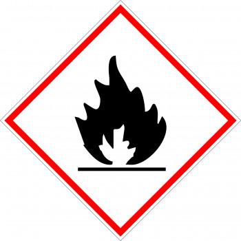 CLP GHS tűzveszélyes, fokozottan tűzveszélyes anyag