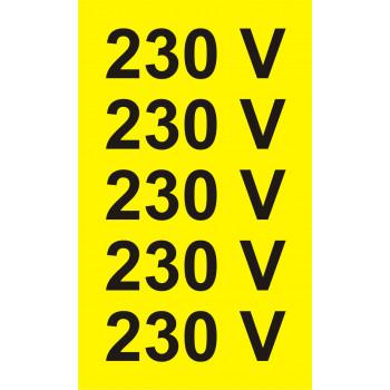 230 V -5db/ív