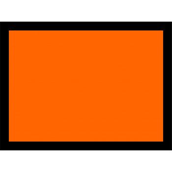 ADR veszélyt jelző szám nélkül narancssárga matrica