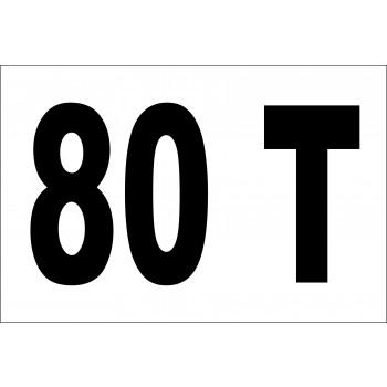 Daru tonna jelzés 80 T