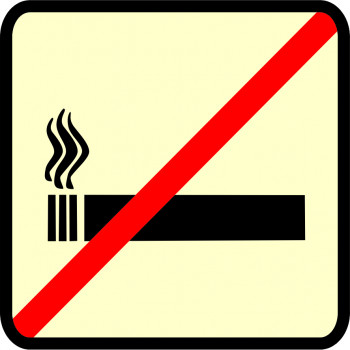 Tilos a dohányzás (vonat02)