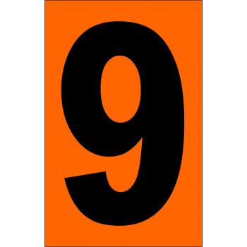 ADR narancsárga tábla 9