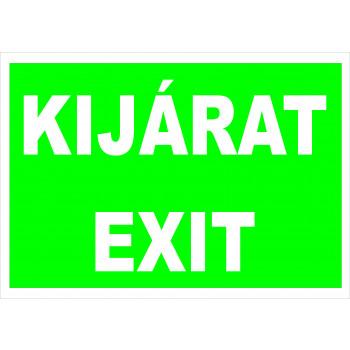 Kijárat / Exit