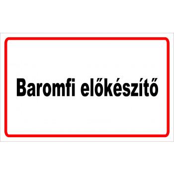 ANTSZ matrica - Baromfi előkészítő 01