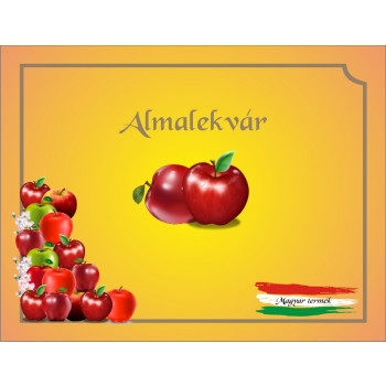 Almalekvár matrica
