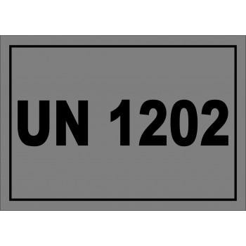 ADR matrica UN 1202 gázolaj