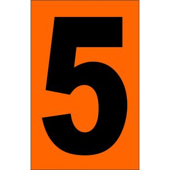 ADR narancsárga tábla 5