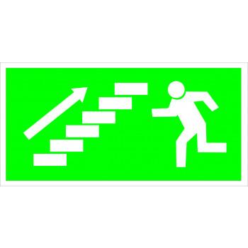 Menekülés iránymutató - Lépcső jobbra felfelé