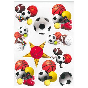 Gyerekmatricák A4 íven - Sport