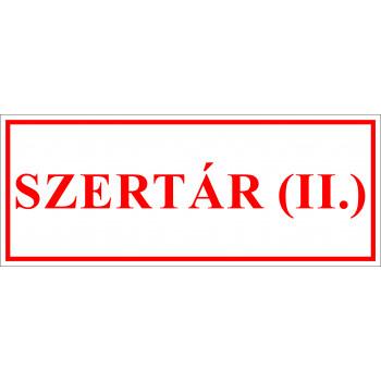 Sportegyesület matrica - Szertár II