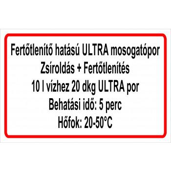 ANTSZ matrica - Ultra zsíroldás+fertőtlenítés