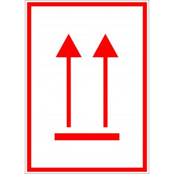 ADR csomag helyzete fölfelé piros