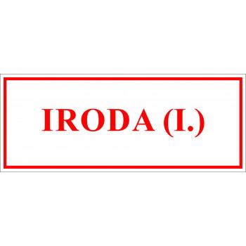 Sportegyesület matrica - Iroda I