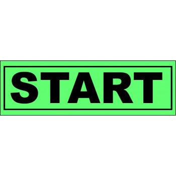 Start matrica zöld