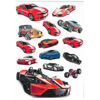 Gyerekmatricák A4 íven - Sportautók