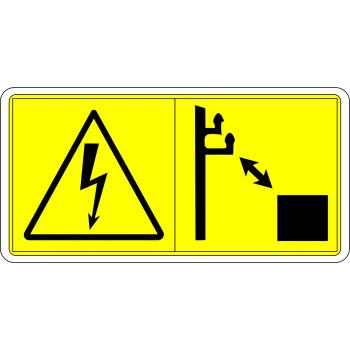 Kellő biztonsági távolságot kell tartani a nagyfeszültségű vezetékektől!