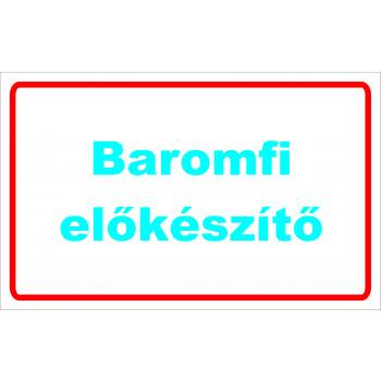ANTSZ matrica - Baromfi előkészítő