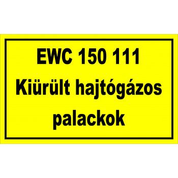 EWC hajtógázos palack