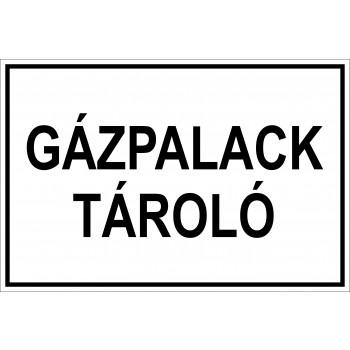 Gázpalack tároló