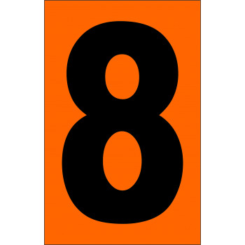 ADR narancsárga tábla 8