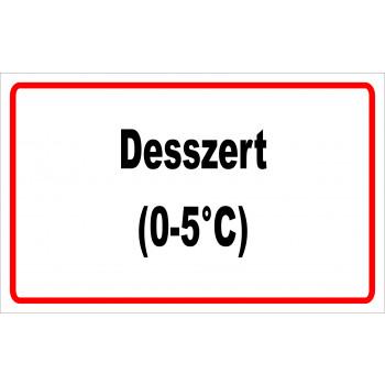 ANTSZ matrica - Desszert