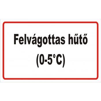 ANTSZ matrica - Felvágottas hűtő