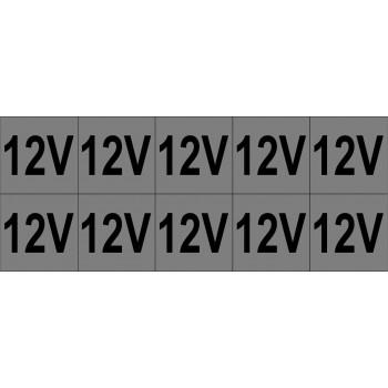 12V 10 db/ív