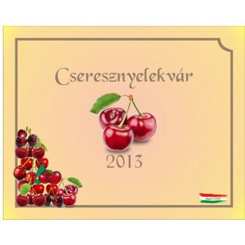 Cseresznyelekvár matrica