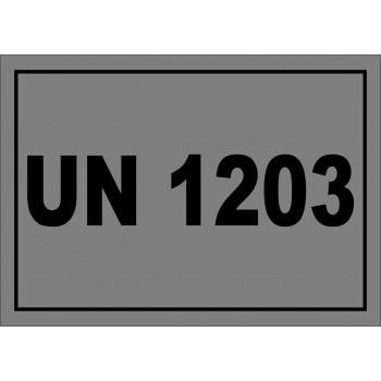 ADR matrica UN 1203 benzin