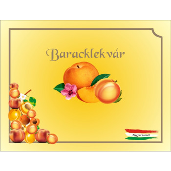 Baracklekvár matrica