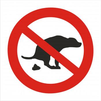 Állatok üritése tilos!