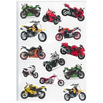 Gyerekmatricák A4 íven - Motorok