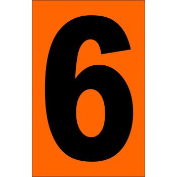 ADR narancsárga tábla 6