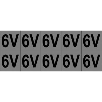 6V 10 db/ív