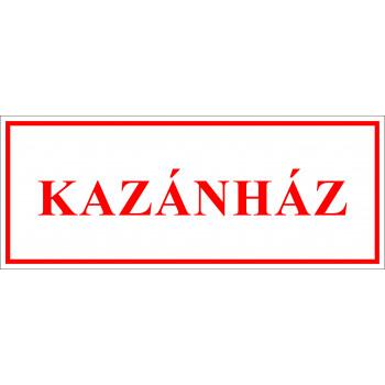 Sportegyesület matrica - Kazánház
