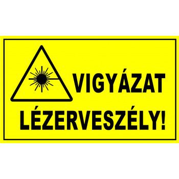 Vigyázat lézerveszély!
