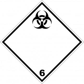 ADR bárca 6 fertőző anyagok