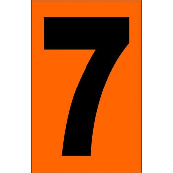 ADR narancsárga tábla 7