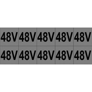 48V 10 db/ív