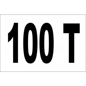 Daru tonna jelzés 100 T